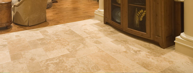 how to clean marble tile floors